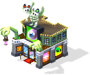 bus halloween oddities mseum SW - Material CityVille: Metas Vampiros e Fantasmas