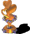 deco honeymoon trophy bronze SW - Novidades CityVille: Novos Troféus da lua de mel !