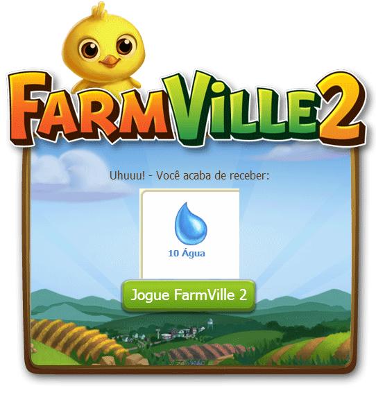 FarmVille 2: Ganhe 10 Água grátis hoje dia 24 de Outubro 1
