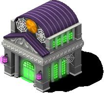 mun haunted bank SW - Material CityVille: Metas Vampiros e Fantasmas