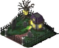 mun spooky graveyard lv1 SW - Material CityVille: Metas Vampiros e Fantasmas