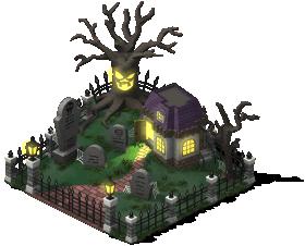 mun spooky graveyard lv2 SW - Material CityVille: Metas Vampiros e Fantasmas