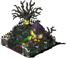 mun spooky graveyard lv3 SW - Material CityVille: Metas Vampiros e Fantasmas