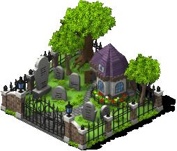 mun spooky graveyard lv4 SW - Material CityVille: Metas Vampiros e Fantasmas