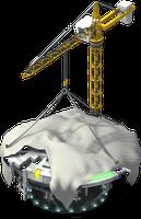 mun ufo mothership lv1 scaffolding SW - Materiais CityVille: Aterrissagem Extraterrestre com novos itens e metas