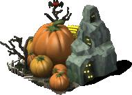 partnerbuild pumpkin cave PKDX - Materiais CityVille: Cultivo de Abóboras Gigantes !
