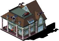 res southern vampire mansion SW - Materiais CityVille: Feliz Halloween ato 3 parte 1 e 2