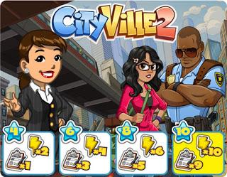 Material CityVille: Promoção CityVille 2