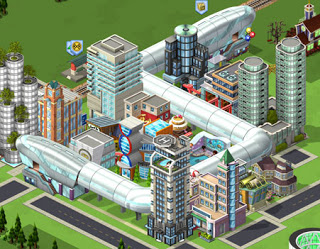 Material CityVille: Novo sistema de monotrilho