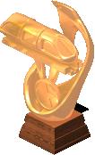 deco monorail trophy bronze SW - CityVille: Troféus para o monotrilho mais longo