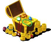 mun treasure chest SE - Novidades CityVille: Ganhe CityNotas com o novo Cofre do Tesouro
