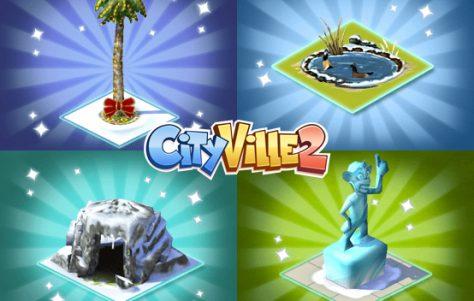 CityVille 2: Novos itens de inverno