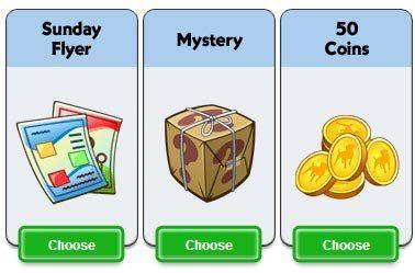 CityVille 2: Ganhe um Panfleto de domingo, presente surpresa ou 50 moedas 17-01-13