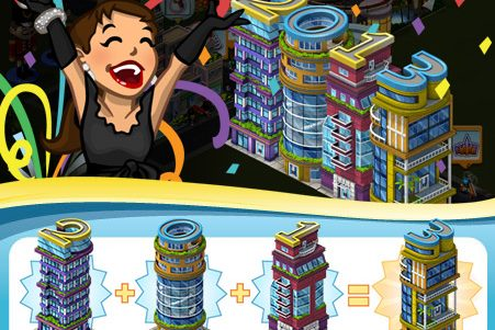 CityVille: Missões Feliz 2013.
