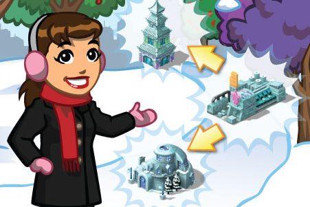 CityVille: Missões da nova oficina do gelo