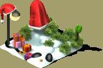 deco santa snowman L1 SW - Materiais CityVille: Os Bonecos de Neve
