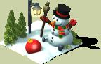 deco snowman L6 SW - Materiais CityVille: Os Bonecos de Neve