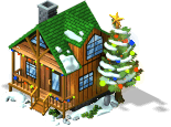 res holiday tree cabin SW - CityVille: Maravilhas invernais 2012 !