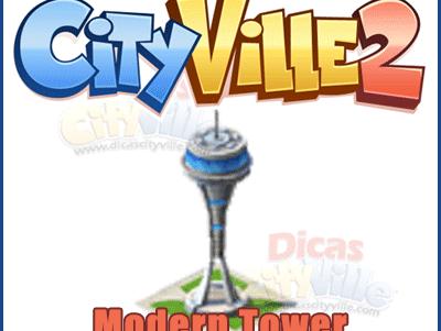 CityVille 2: Ganhe um Modern Tower grátis 08-01-13