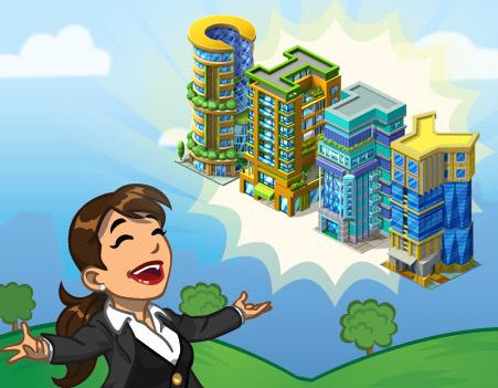 announce AZbuilding - Materiais CityVille: Os Prédios do Alfabeto