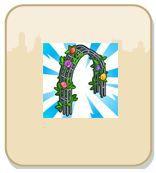 arco de rosas gratis cityville - CityVille: Ganhe 2 Suporte Floral grátis 09-03-13