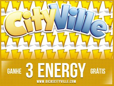 ganhe energia dicas cityville - Ganhe 3 de energia grátis na sua cidade do CityVille 15-07-13
