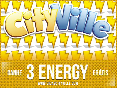 CityVille: Ganhe 3 de energia grátis 13-03-14