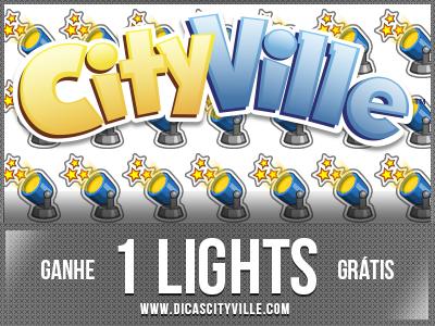CityVille: Ganhe 1 lights grátis para iluminar sua cidade 16-07-13