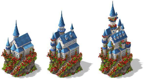 ugpy5Hj - Materais CityVille: O Castelo dos jardim rosas