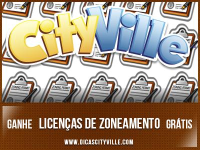 ganhe licencas de zoneamento no dicas cityville - CityVille: Ganhe 1 licença de zoneamento 18-06-13