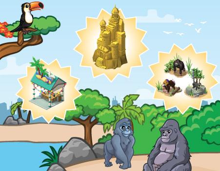 announce tropicalmansion 02 - CityVille: Materiais da Mansão Tropical