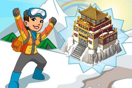 CityVille: Metas da Saga de exploração – Himalaia