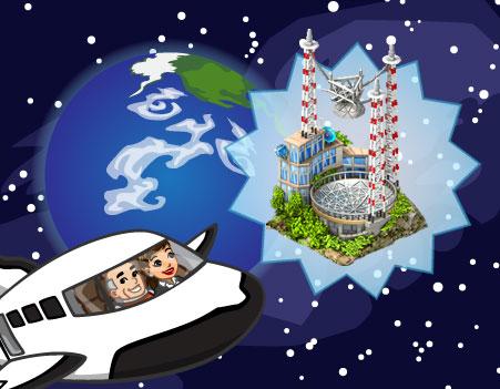announcement ExplorationSagaAct3 - CityVille: Códigos dos Edifícios do Espaço