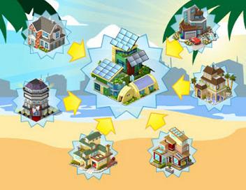 CityVille: Materiais do Bairro Solar de Verão