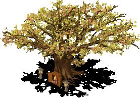 mun cherry blossom tree lv1 SW - Material CityVille: A cerejeira colossal