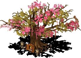 mun cherry blossom tree lv2 SW - Material CityVille: A cerejeira colossal