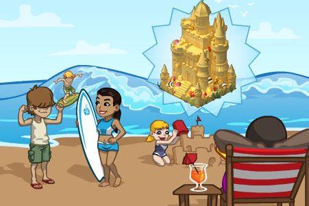 CityVille: Materiais do Castelo de areia para comemorar o dia dos pais