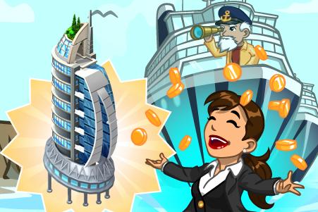 CityVille: Materiais da Torre do Oceano