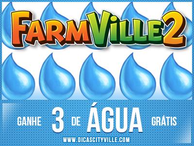 ganhe 3 de agua no farmville 2 dicas cityville - FarmVille 2: Ganhe 3 água grátis 13-11-13
