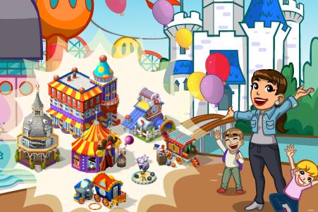 CityVille: Material do parque de diversões, peça balões coloridos