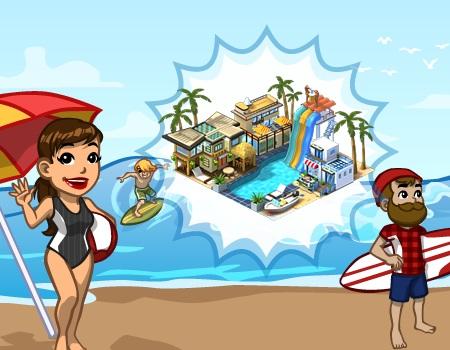 cityville Resort de Praia - CityVille - Materiais do Resort de Praia