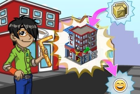 CityVille: Materiais dos apartamentos negócios
