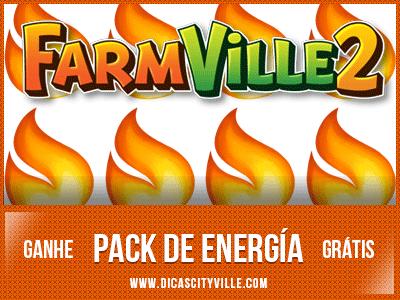 energia gratis no farmville 2 dicas cityville - FarmVille 2: Ganhe 1 Pack de energia x5 23-07-13