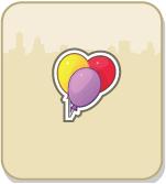 CityVille: Ganhe 2 balões coloridos grátis 26-07-13