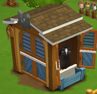 establo de caballos farmville2 - Farmville 2: Vamos construir o estábulo para cavalos