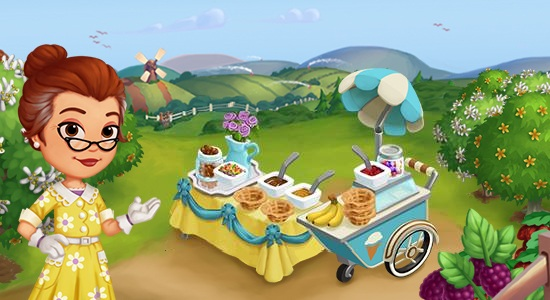 farmville 2 carrinho de sorvete dicas cityville - FarmVille 2: Novo carrinho de sorvete