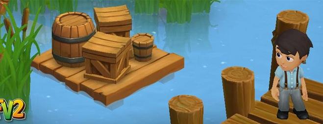 farmville 2 rio - Farmville 2: Uma nova expansão do rio, plantas aquáticas e muito mais