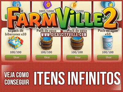FarmVille 2: Como comprar Items que custa Notas Farm Grátis