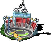 mun sports2013 race track SE - CityVille: Materiais do circuito de corridas