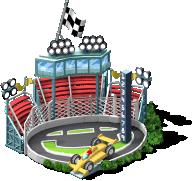 mun sports2013 race track SW - CityVille: Materiais do circuito de corridas